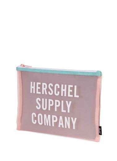Herschel Clutch / El Çantası Beyaz